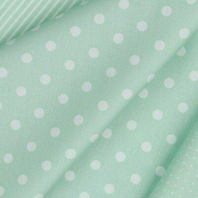 Printed Cotton - Dots Mint