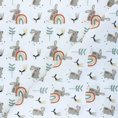 Printed Cotton - Ladino Grege