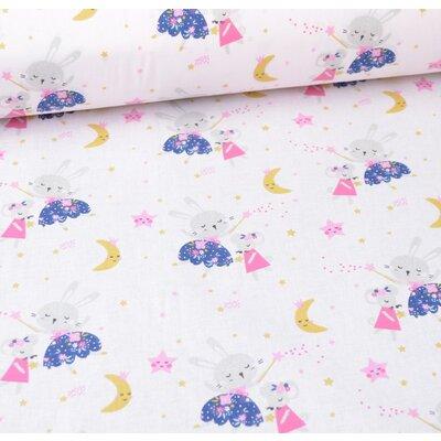 Printed Cotton - Lafee Rose