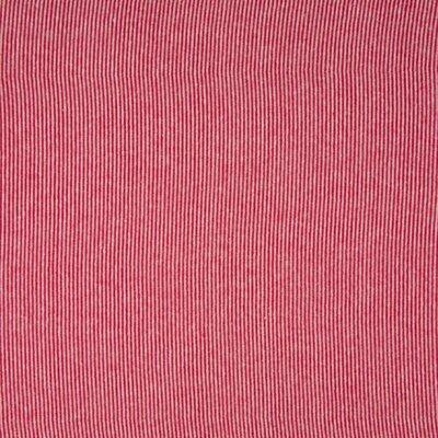 Rib Cuff - Stripe Red