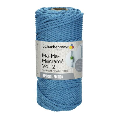 Thick macramé yarn - Ma-Ma-Macrame2 - Denim 00050