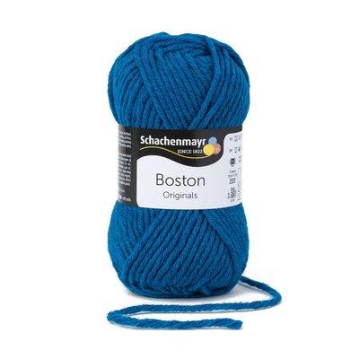 Wool blend yarn Boston-Mosaic Blue 00065