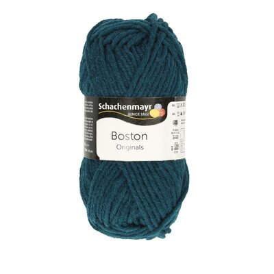 Wool blend yarn Boston Teal 00068