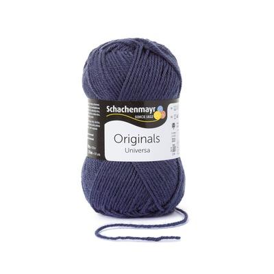 Wool blend yarn Universa - Indigo 00151
