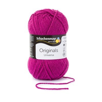 Wool blend yarn Universa - Wine 00135