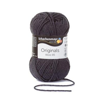 Wool Yarn Wool85 - Antracit 00298