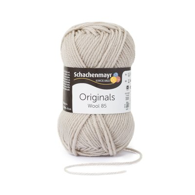 Wool Yarn Wool85 - Oatmeal 00293
