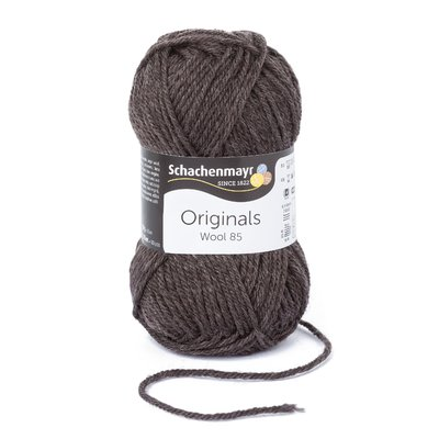 Wool Yarn Wool85 - Pepper 00211
