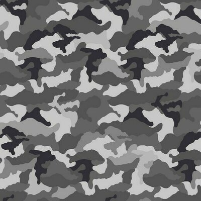Jerse Bumbac imprimat - Camouflage Grey