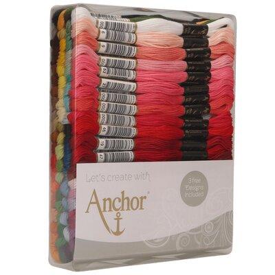 Asortiment Mouline pentru broderie Anchor - 80 culori