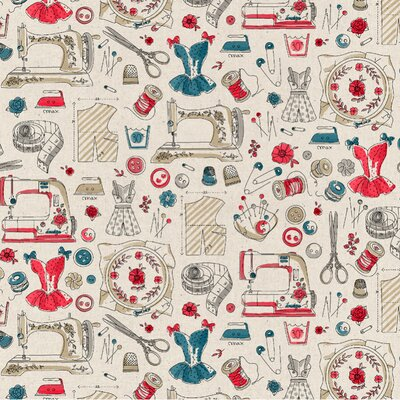 Bumbac imprimat digital - Passion for sewing