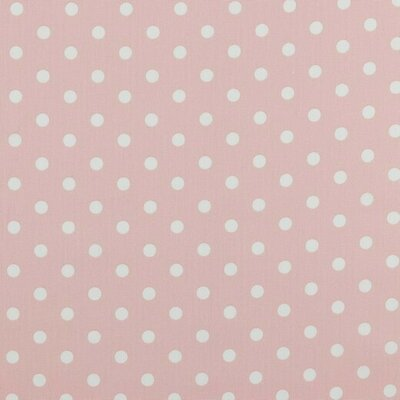 Bumbac imprimat - Dots Light Rose
