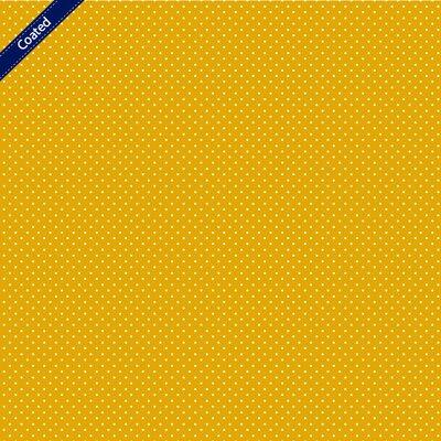 Bumbac peliculizat - Petit Dots Yellow