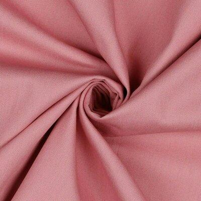 Poplin bumbac uni - Blush