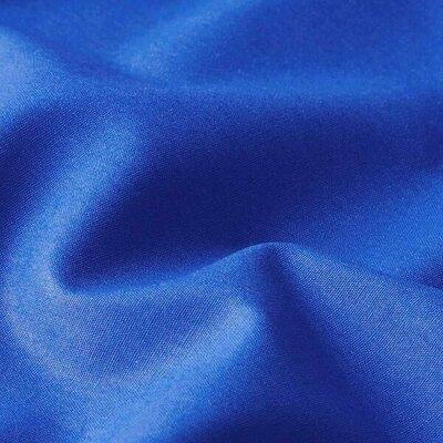 Poplin bumbac uni - Cobalt