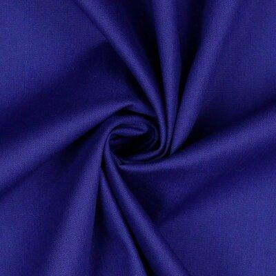 Poplin bumbac uni - Dark Cobalt