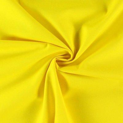 Poplin bumbac uni - Lemon