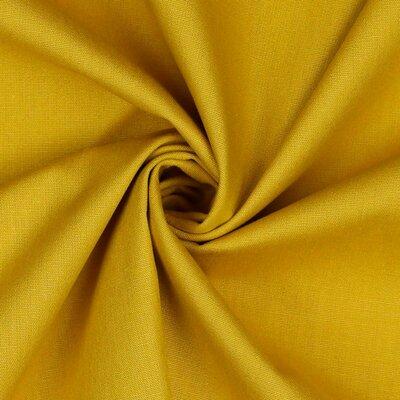 Poplin bumbac uni - Mustard