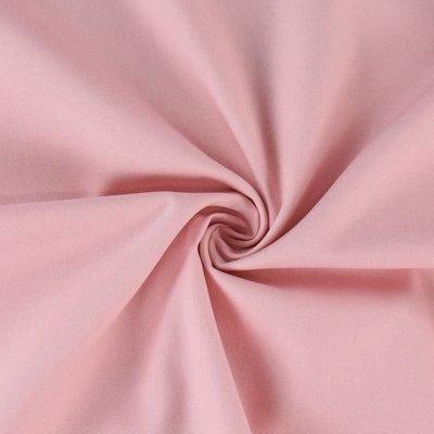 Poplin bumbac uni - Rose