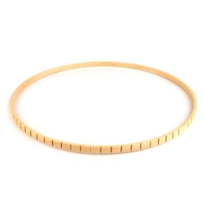 Cerc din lemn pentru decoratiuni - diametru 28.5 cm