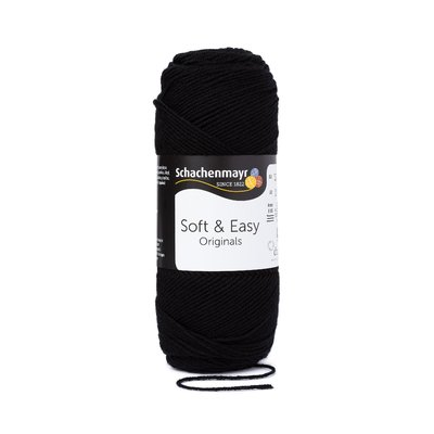 Fir acril Soft & Easy - Black 00099