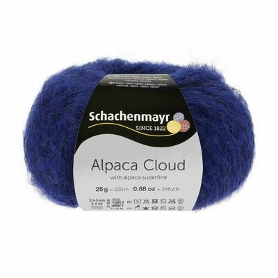 Fir de tricotat Alpaca Cloud - Royal 00056