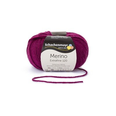 Fire lana - Merino Extrafine 120 Burgundy 00133