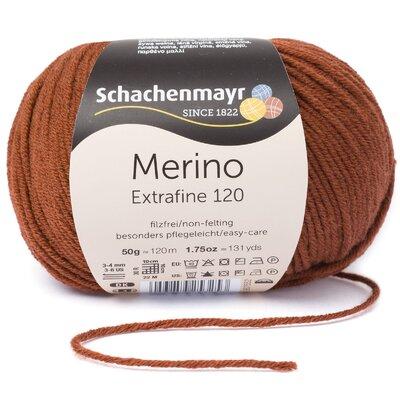 Fire lana - Merino Extrafine 120 Copper 00107