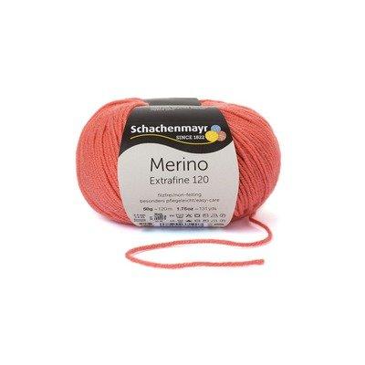 Fire lana - Merino Extrafine 120 Coral 00134