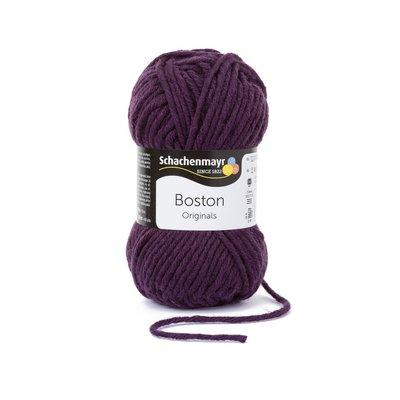 Fire lana si acril Boston-Eggplant 00149