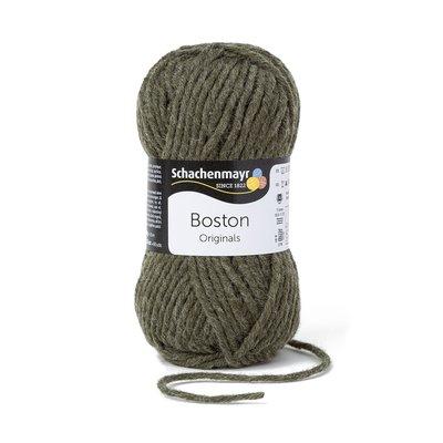 Fire lana si acril Boston-Loden Green 000175