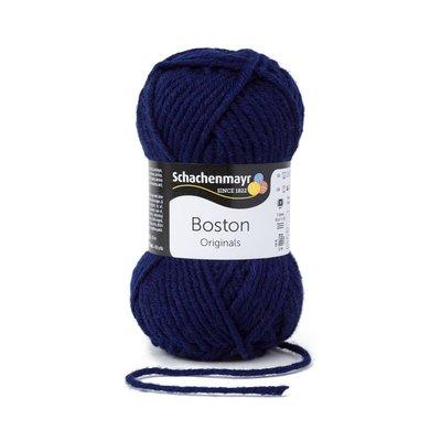 Fire lana si acril Boston-Navy 00054