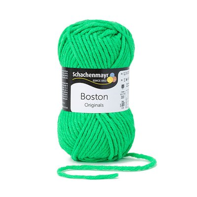 Fire lana si acril Boston- Neon Green 000171