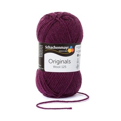 Fire Lana - Wool125 - Plum 00144