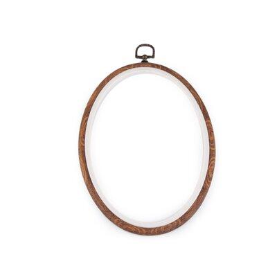 Gherghef oval pentru broderie - 16.5 x 23 cm