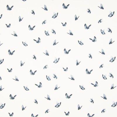 Jerse Bumbac imprimat - Butterflies Grey