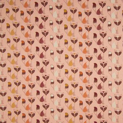 Jerse Bumbac imprimat - Fox Dusty Pink