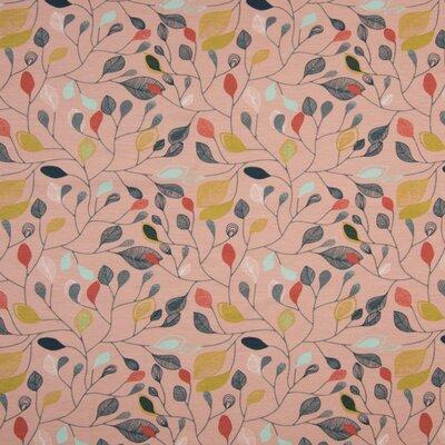 Jerse Bumbac Organic - Leaves Old Pink
