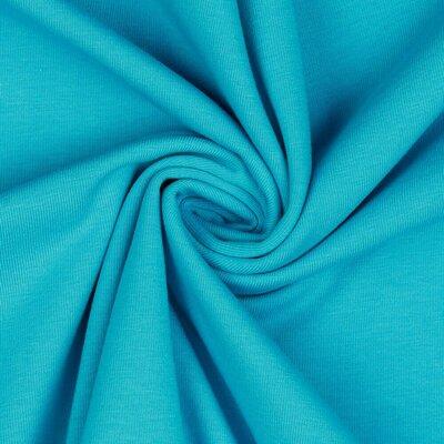 Jerse bumbac organic - Turquoise