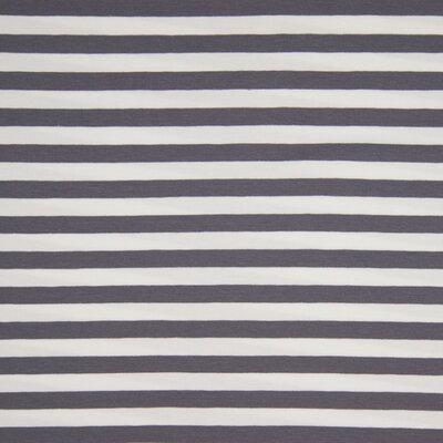Jerse de bumbac - Yarn Died Stripes Grey