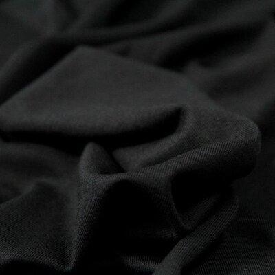 Jerse uni subtire Modal Tencel  - Black
