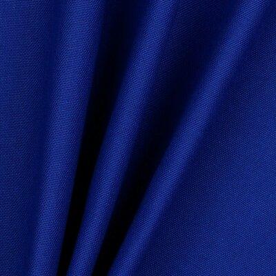 Material bumbac canvas uni - Cobalt