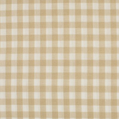 Material bumbac - Gingham Sand 10mm
