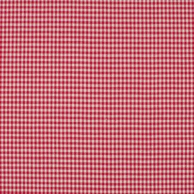 Material bumbac - Mini Gingham Red 2mm