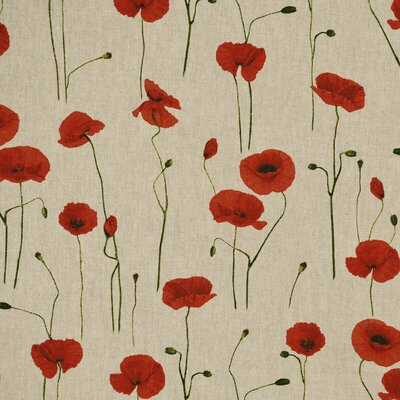 Material Canvas - Poppy Field