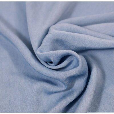 Material denim Chambrai Viscose - Light Blue