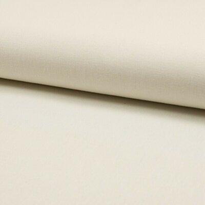 Material din amestec in si bumbac - Ecru