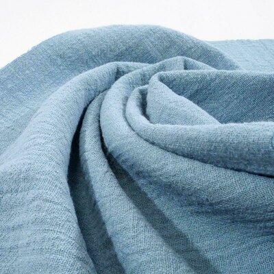 Material din bumbac tesut si prespalat - Blue