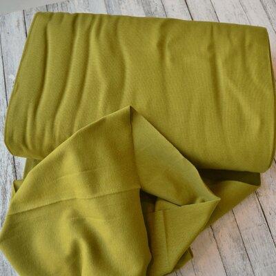 Material tubular Rib / patent mansete Organic - Moss Green