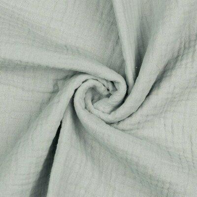 Muselina Organica GOTS  - Grey